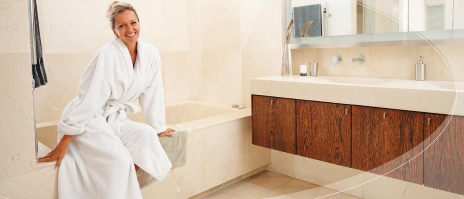 Fußbodenheizung und Wandheizung im Badezimmer