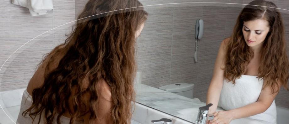Spiegelheizung
